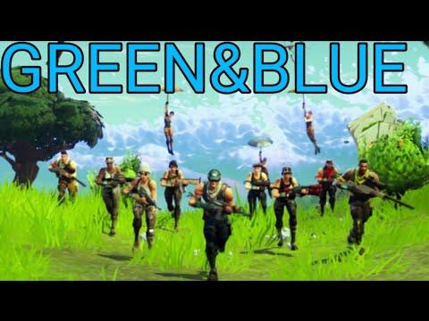 Fortnite: All Green/Blue Rarity Skins!