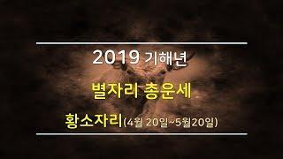 2019년 황소자리 별자리운세