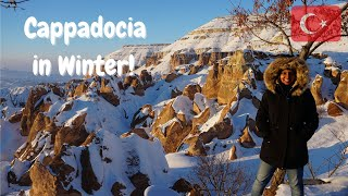 Turkey Travel Vlog: Cappadocia in Winter