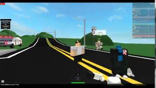 Guy getting arrested by CHP (roblox)
