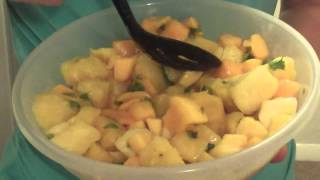 #30daysaladchallenge Day 12: Mango And Pineapple Salad