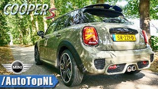 MINI COOPER S 2019 | EXHAUST Sound REVS & ONBOARD by AutoTopNL