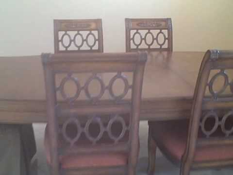 Drexel Heritage Dining Table eBay Ad - - YouTube