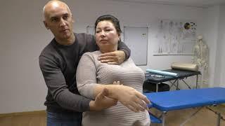 Биокинетика.  Лечение дельтовидной мышцы.  Техника Хубера