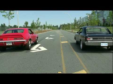 69 Camaro 540 vs 66 Chevelle 427