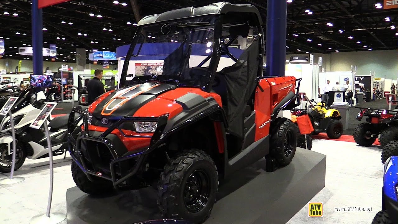 2017 kymco uxv 450i utility atv walkaround 2016. Black Bedroom Furniture Sets. Home Design Ideas