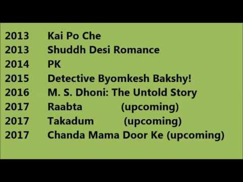 Sushant Singh Rajput Movies List - YouTube