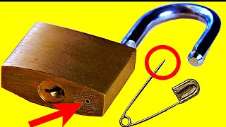 4 Ways to Open a Lock 🔴 (NEW)