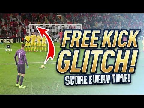 FIFA 20 *NEW* FREE KICK GLITCH! Score Every Free Kick In FIFA 20!?