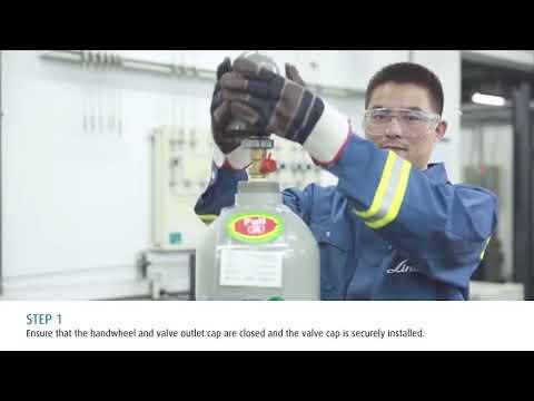 Linde Electronics Video Series: Safe Cylinder Handling