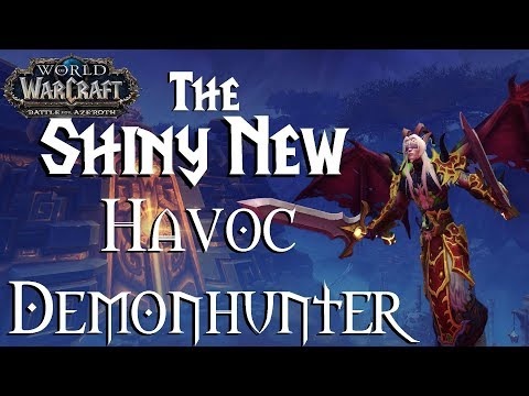 Havoc Demon Hunter changes - Battle for Azeroth - Beta Testing