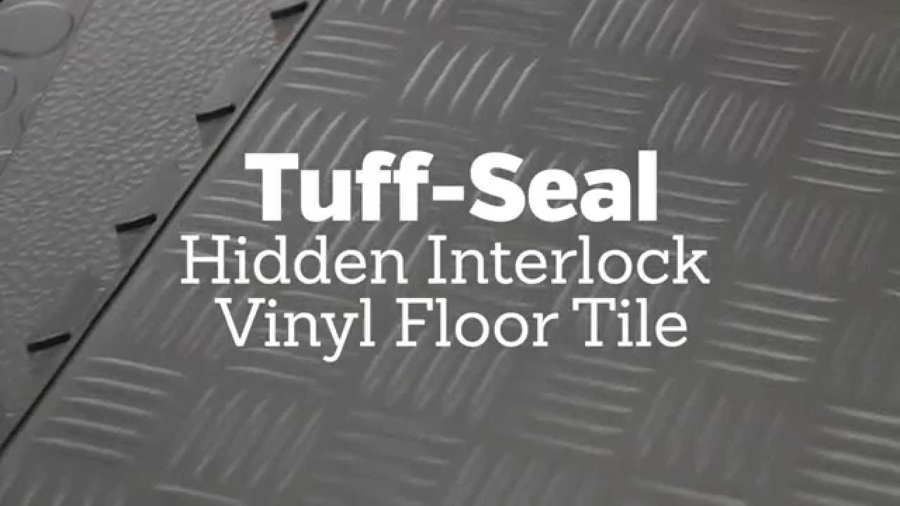 Tuff seal hidden interlock vinyl floor tile youtube tuff seal hidden interlock vinyl floor tile doublecrazyfo Images