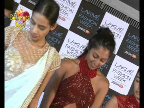 Lakme Fashion Week WinterFall 2014 'Fittings' Session with Designers  2