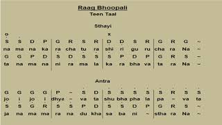 Raag Bhoop Bandish