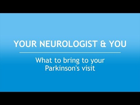 Your Neurologist and You: What to Bring to Your Parkinson's Visit