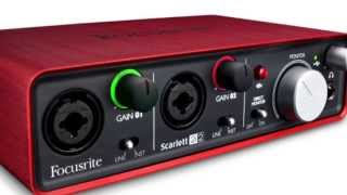 focusrite scarlett 2i2 pre amp and digital interface overview