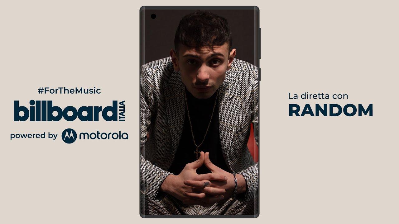 Billboard Calling #ForTheMusic: in diretta con Random