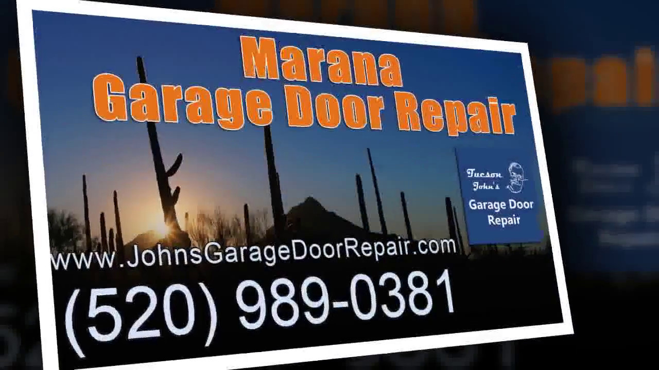 How To Fix Electric Garage Door Marana Arizona Youtube
