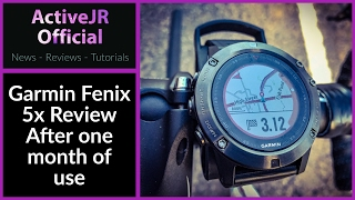 Garmin Fenix 5x review // one month of use // best fitness watch 2017