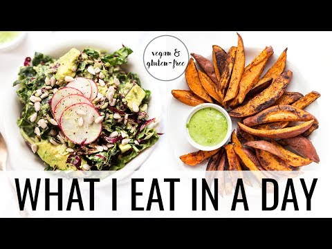 23. WHAT I EAT IN A DAY | vegan & gluten-free