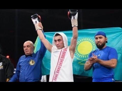 Казахстанский боксер выиграл титул чемпиона WBA