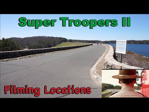 Super Troopers 2 Filming Locations (Quabbin)