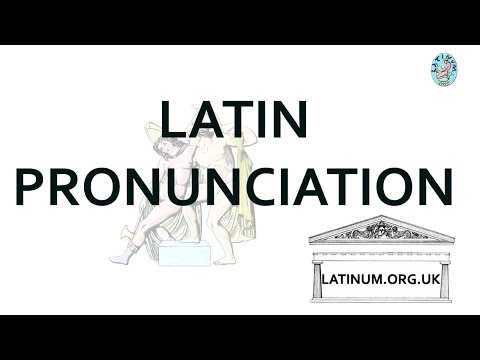 Latin Pronunciation - Cambridge Philological Society - 1887