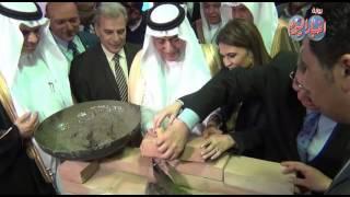 وضع حجر أساس تطوير مستشفى قصر العيني بمشاركة وزير المالية السعودى