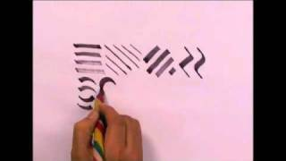 Calligraphy Basic Strokes 3