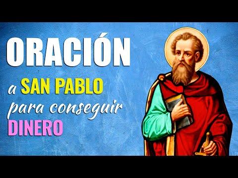 🙏 Oración Milagrosa a San Pablo para CONSEGUIR DINERO 💰 ¡De Forma MILAGROSA!