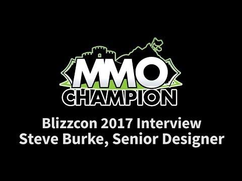 Blizzcon 2017 - Steve Burke Interview - World of Warcraft