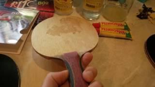резиновый клей для накладок ( делаем сами ) и немного про китайские накладки )))