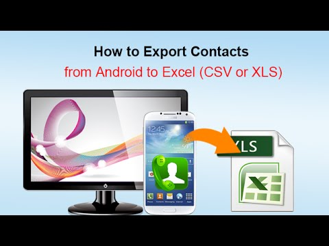 How To Export Android Contacts