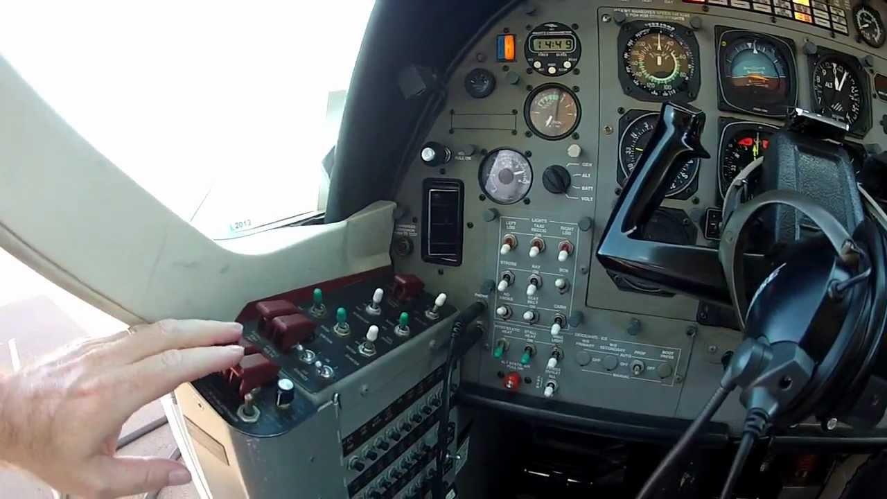 Cessna Caravan Cockpit Preflight Inspection Flight Training Youtube