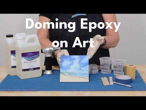 Doming Epoxy Resin on Art