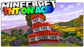 Minecraft ACID | TNT! (Minecraft Acid Shaders Mini Games)