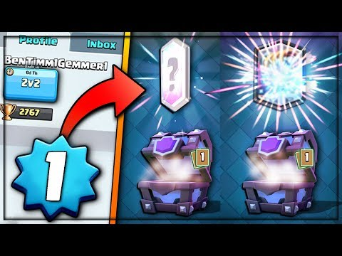 LEVEL 1 NEW SUPER MAGICALS LEGENDARY ANIMATION OPENING   Clash Royale   LEVEL 1 UNFAIR 2v2s!
