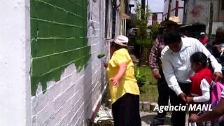 """Repavimentación y """"pinta"""" de edificios en Alborada Jaltenco"""