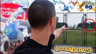 THIS IS WHERE LEGENDARIES WILL BE RELEASED IN POKÉMON GO!! + HOW TO DEFEAT LEGENDARY RAID BOSSES!