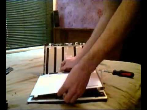 Laptop Screen Replacement / How To Replace Laptop Screen ASUS U41JF.avi