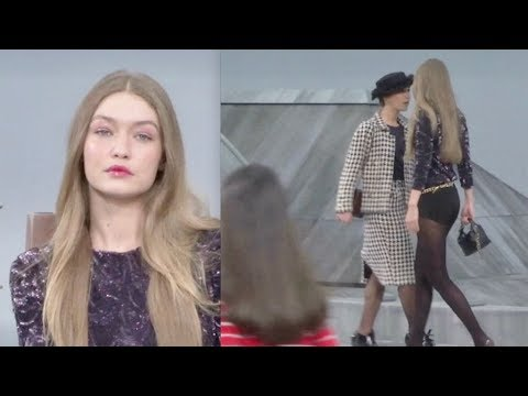 marie-s'infiltre-gets-kicked-out-from-chanel-runway-by-gigi-hadid