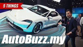 IAA 2019: Porsche Taycan electric sports car in Frankfurt, 5 Things - AutoBuzz.my