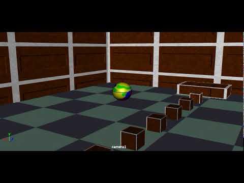 Maya Bouncing Ball