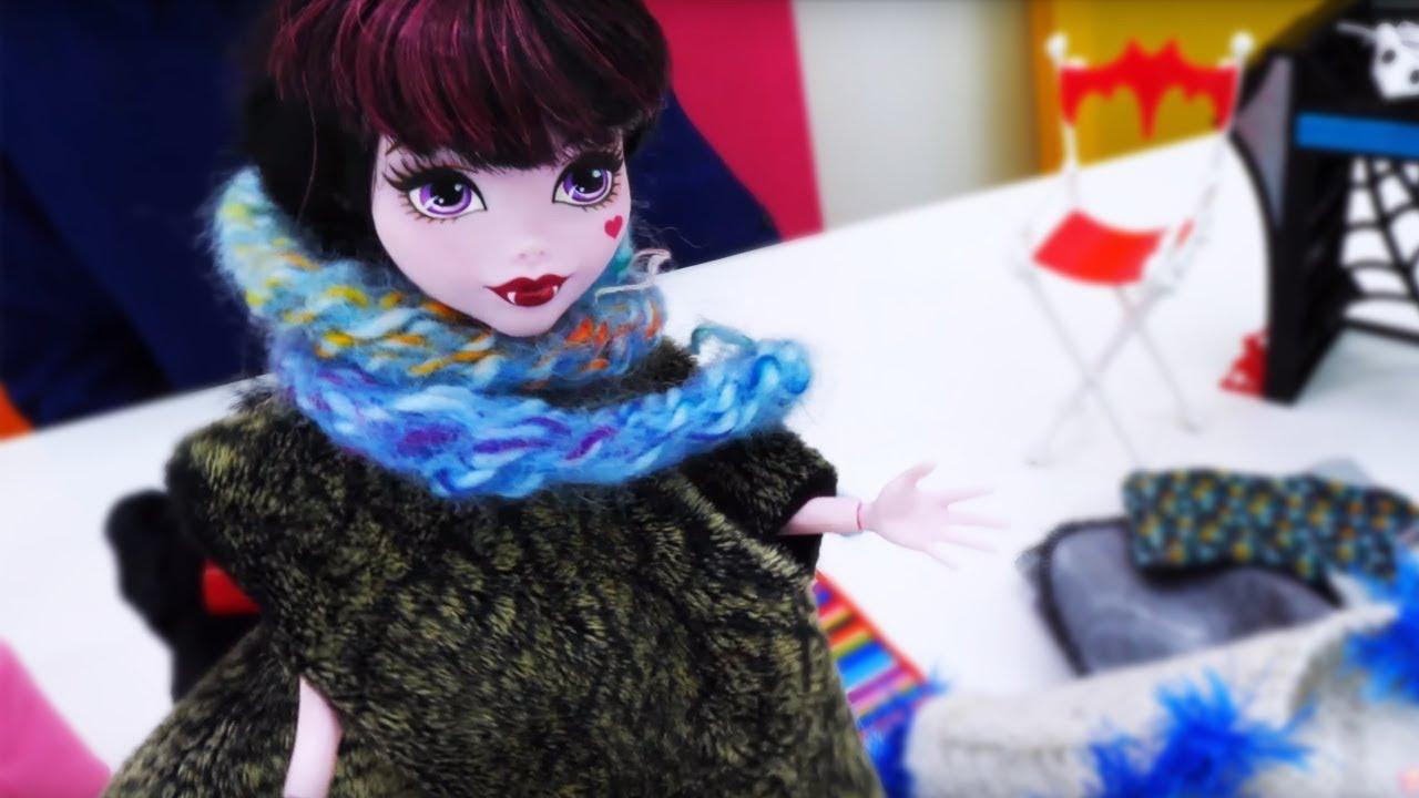 Игры одевалки Монстр Хай - Видео для девочек - YouTube