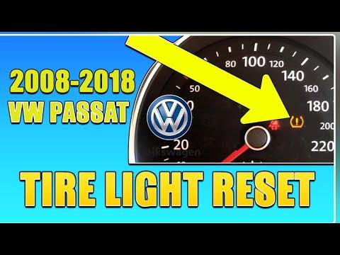 Volkswagen Passat Tire Pressure Light RESET For 2012 To 2018 VW Passat TPMS Reset Solution