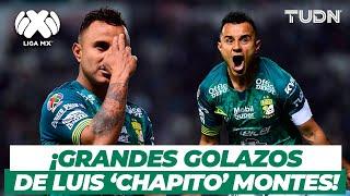 ¡Golazos! Grandes goles del 'Chapito' Montes con León | TUDN