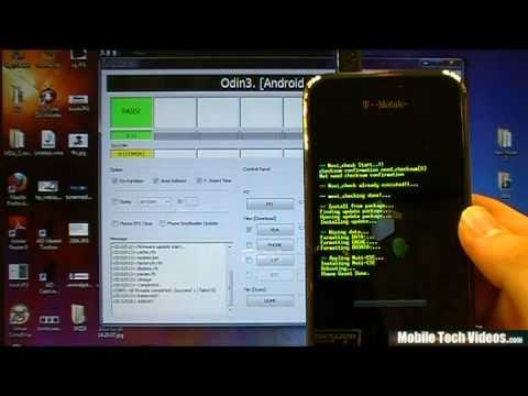 Samsung Galaxy S (ODIN Tutorial)