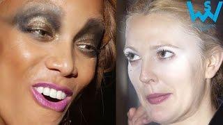 Worst celebrity make up fails   worst celebrity makeup disasters