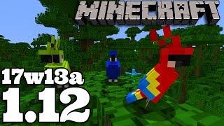 Minecraft 1.12 | 17w13a : PAPUGI | Auto-Crafting | Narrator