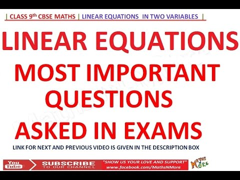 Class 9th Important Questions